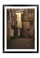 Tudor Merchants House Tenby, Framed Mounted Print