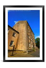 Blackpool Mill #2, Framed Mounted Print