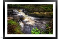 River Neath in Waterfall Country, Framed Mounted Print