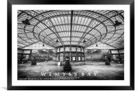 Wemyss Bay Train Station, Framed Mounted Print