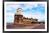 Fort Perch Rock, New Brighton, Wirral, Framed Mounted Print