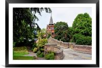 The Iconic Port Sunlight Lyceum, Framed Mounted Print