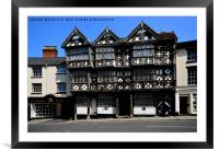 The Feathers Hotel, Ludlow, Framed Mounted Print