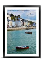 Aberdovey West Wales, Framed Mounted Print