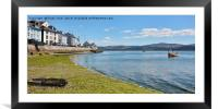 Aberdovey foreshore, Framed Mounted Print