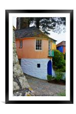 Portmeirion, North Wales, Framed Mounted Print