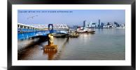 MV Snowdrop leaving Seacombe Ferry, Framed Mounted Print