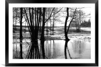 Waters of March, Framed Mounted Print