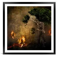 The Escape, Framed Mounted Print