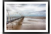 Southport Pier, Framed Mounted Print