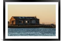 Waterfront Property, Framed Mounted Print