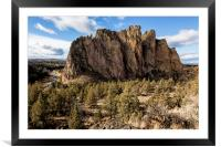 Smith Rock, Framed Mounted Print