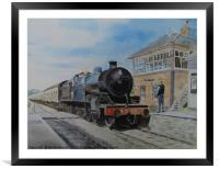 88 At Blue Anchor, Framed Mounted Print