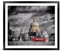 London Icons, Framed Mounted Print