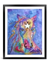 Painted Pony, Framed Mounted Print