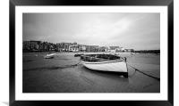 Fishing boat in saint Ives, Framed Mounted Print
