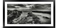 View to the Farnes, Framed Mounted Print