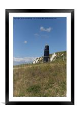 Samphire Hoe , Framed Mounted Print