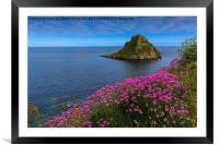 Thatcher Rock View, Framed Mounted Print