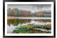 Autumns Mist, Framed Mounted Print