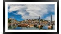 Torquay Harbour., Framed Mounted Print