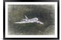 Vulcan in the North, Framed Mounted Print