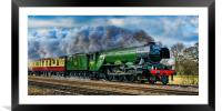Steaming to the North, Framed Mounted Print