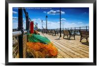 Halfpenny Pier in the Summertime, Framed Mounted Print