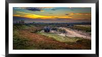 Autumn Essex Backwater Serenity, Framed Mounted Print