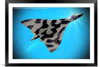 vulcan to the sky, Framed Mounted Print