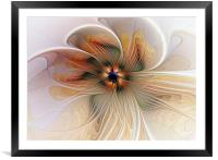 Just Peachy, Framed Mounted Print