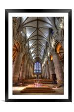 Gloucester Cathedral, Framed Mounted Print