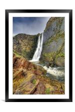 Speke Mill Mouth Waterfall, Framed Mounted Print