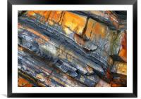 Another Colour of Rock, Framed Mounted Print