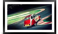 Almost F1......, Framed Mounted Print
