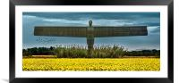 The Angel of the North, Framed Mounted Print