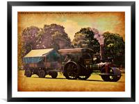 Bygone Years, Framed Mounted Print