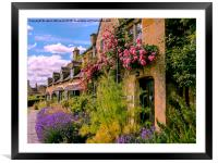 Cotswold Colours, Framed Mounted Print