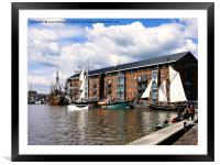 Tall Ships, Framed Mounted Print