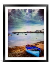 Calm before a storm, Framed Mounted Print