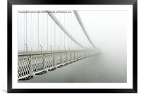 Vanishing Point, Bristol, Framed Mounted Print