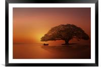 if only one, Framed Mounted Print