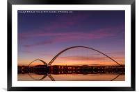 Infinity Bridge, Framed Mounted Print