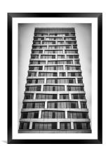 Malmo Hyllie Quality Hotel Facade, Framed Mounted Print