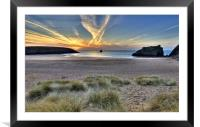 Broadhaven, Framed Mounted Print