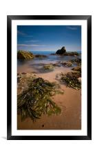 Beneath The Waves, Framed Mounted Print