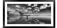 Out Walking, Framed Mounted Print