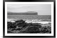 Dunnet Head in Caithness, Framed Mounted Print