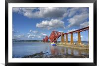 Forth Bridge, South Queensferry, Scotland., Framed Mounted Print