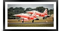 Formation Take Off, Framed Mounted Print